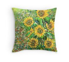 Kissed By the Wind Throw Pillow