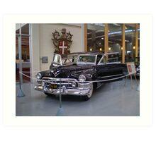 Gangsta Cadillac Art Print
