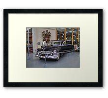 Gangsta Cadillac Framed Print