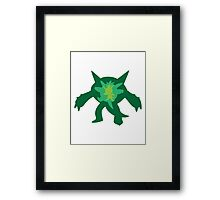 Chespin Quilladin Chesnaut Framed Print