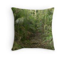 Nikau Reserve, Paraparaumu Throw Pillow
