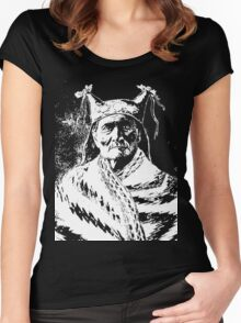 GERONIMO (1888) Women's Fitted Scoop T-Shirt