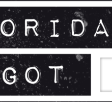 FLORIDA KILOS Sticker