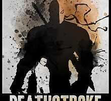 Deathstroke Splash by recurvedesign