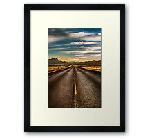 Road trip to Big Bend Framed Print