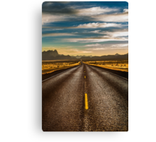 Road trip to Big Bend Canvas Print