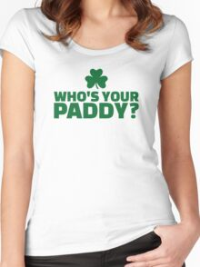 Who's your Paddy Women's Fitted Scoop T-Shirt