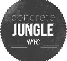 CONCRETE JUNGLE by Emi Bourke