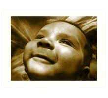 Precious Smiles Art Print