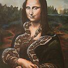 Mona, After Da Vinci by SnakeArtist