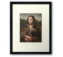 Mona, After Da Vinci Framed Print