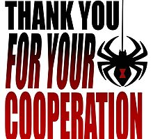 "Black Widow ""Thank You For Your Cooperation"" by impossible-m"