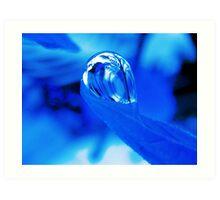 Blue Blue World Art Print