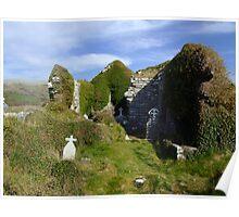 Rural church ruins Poster