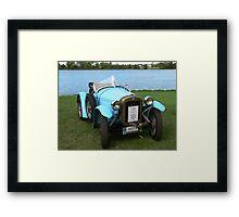 1929 Austin 7 Meteor  Framed Print