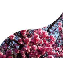 floral karma Sticker