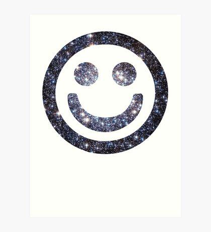 Star Cluster | Galactic Smileys Art Print