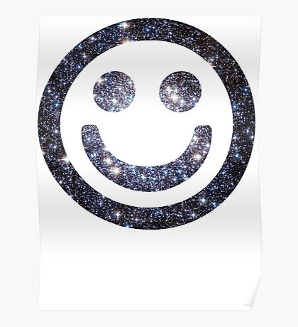 Star Cluster   Galactic Smileys Poster