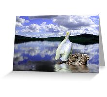 The Tranquil Lake Greeting Card