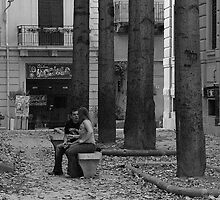 """City Life - """"Parting in Palermo"""" by Denis Molodkin"""