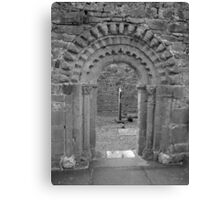 Dysart O Dea arch in black and white Canvas Print