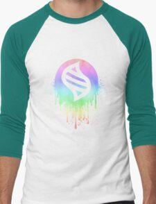 Keystone Splatter (Pastel) Men's Baseball ¾ T-Shirt
