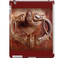 Medieval Door Knocker iPad Case/Skin