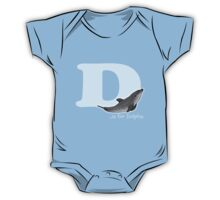 D is for Dolphin One Piece - Short Sleeve