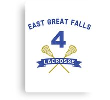 Steve Stifler 4 East Great Falls Lacrosse Canvas Print