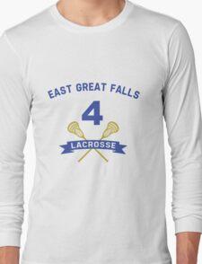 Steve Stifler 4 East Great Falls Lacrosse Long Sleeve T-Shirt