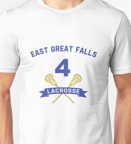 Steve Stifler 4 East Great Falls Lacrosse Unisex T-Shirt