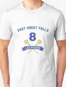 "Chris ""Oz"" Ostreicher 8 East Great Falls Lacrosse T-Shirt"