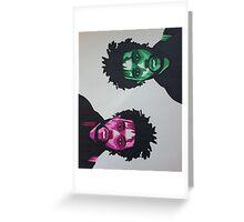 The Weeknd Greeting Card