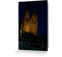 St Marys Cathedral  Greeting Card
