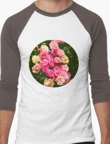 Sunday Roses Men's Baseball ¾ T-Shirt