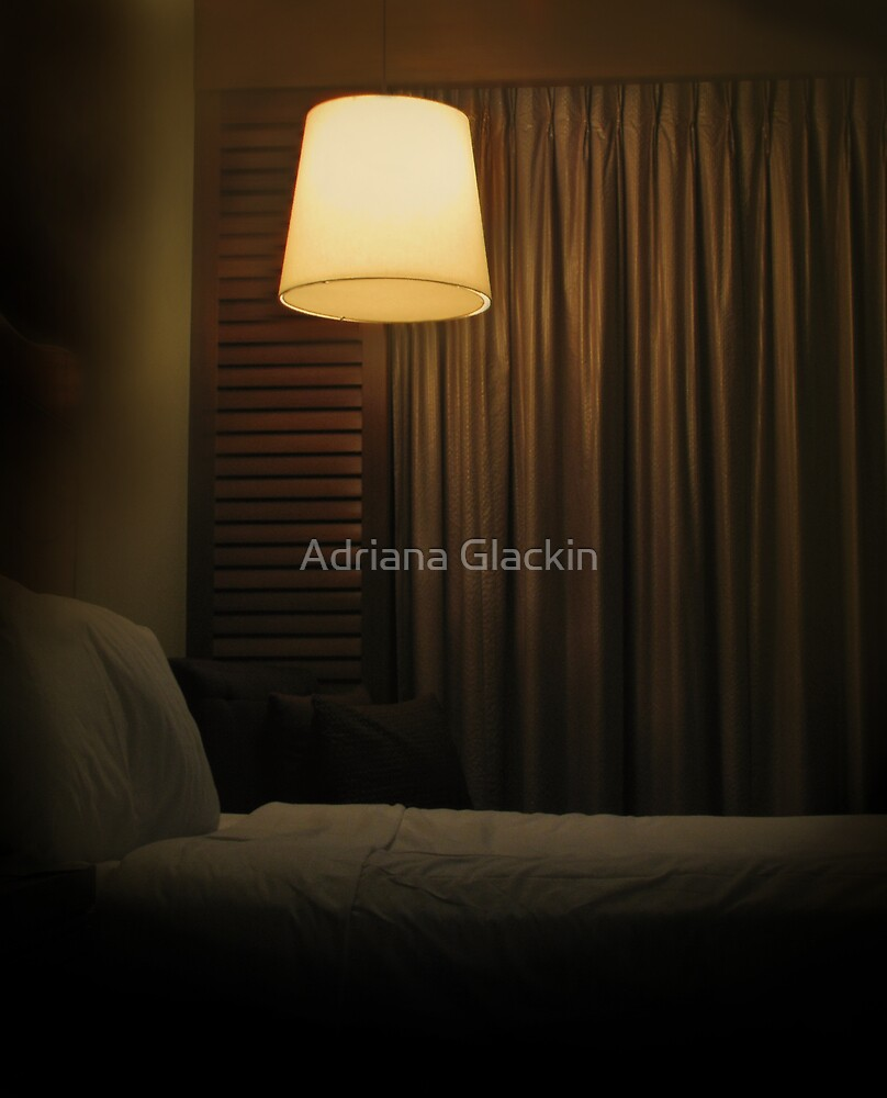 the bed's too big without you by Adriana Glackin