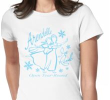Arendelle Ice Rink Womens Fitted T-Shirt