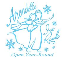 Arendelle Ice Rink Photographic Print
