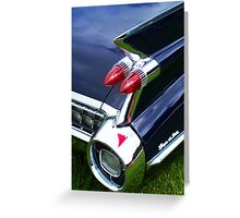 Caddy Tail Light Greeting Card