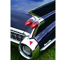 Caddy Tail Light Photographic Print