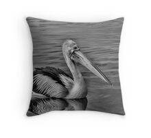 Fingerbone Bill Throw Pillow
