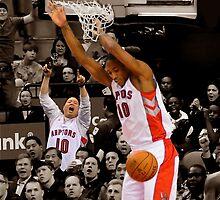 Toronto Raptors - Demar Derozan by HellGateStudios