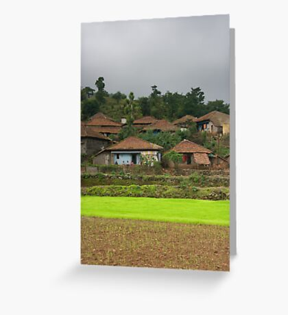 Remote India Greeting Card