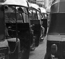 Bombay Traffic by Chris Putnam