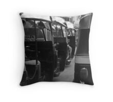 Bombay Traffic Throw Pillow