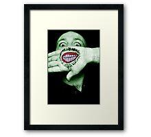Happy Hulk Framed Print
