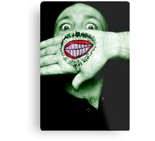 Happy Hulk Metal Print