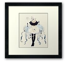jellyfish dress Framed Print
