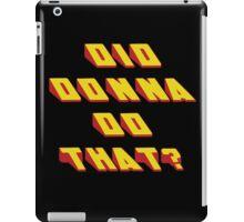 DONNA - Did it Design iPad Case/Skin