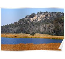 Lake Catani at Mount Buffalo Poster
